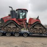 Transport Tractor Case Quadtrac 620