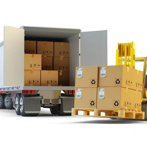 transport marfa international paletizat